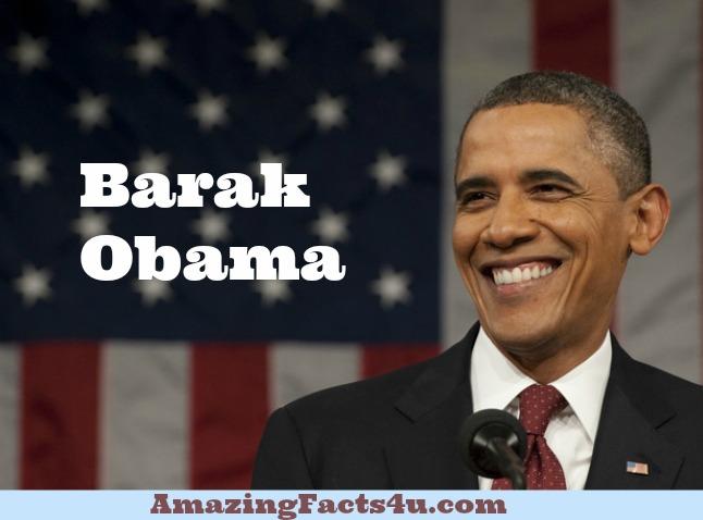 Barak Obama Amazing Facts