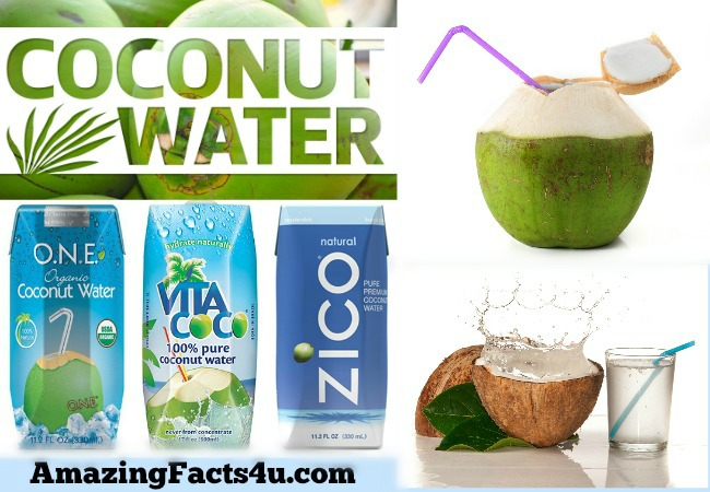 Coconut Water Amazing facts