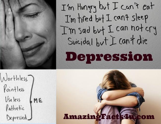 Depression Amazinhg facts