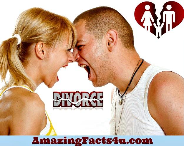 Divorce Amazing Facts