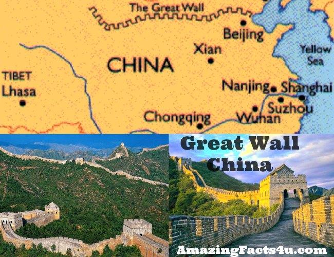 Great Wall China Amazing facts