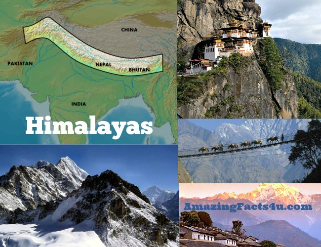 Himalayas Amazing Facts