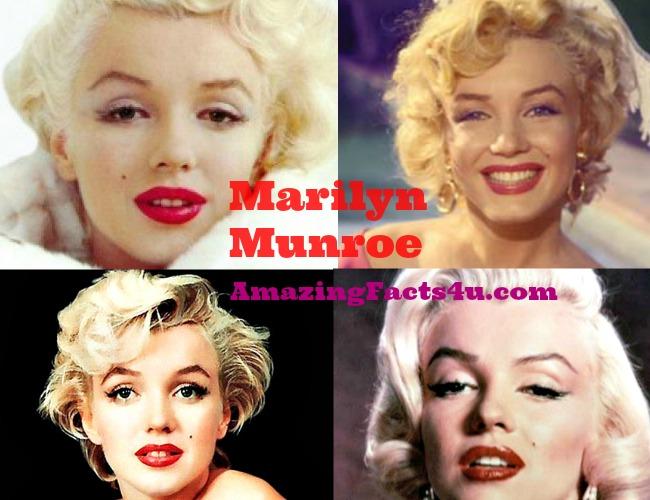 Marilyn Munroe Amazing Facts