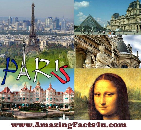 Paris Amazing facts