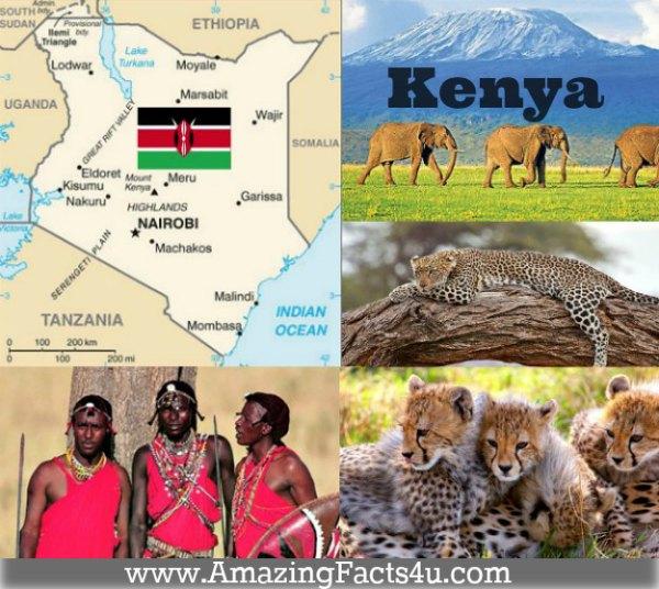 Kenya Amazing Facts