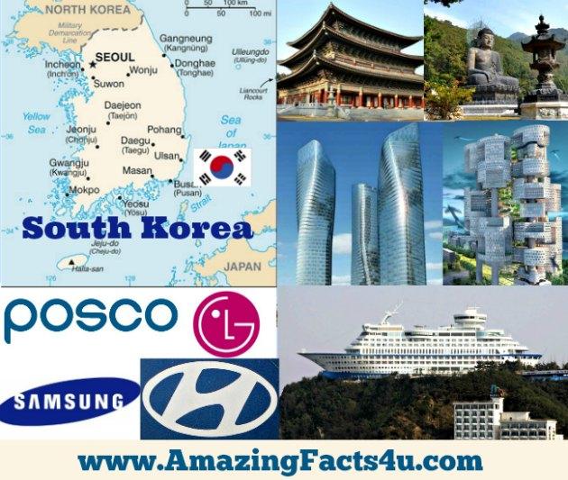 South Korea Amazing Facts