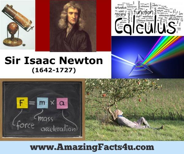 Amazing Facts Isaac Newton
