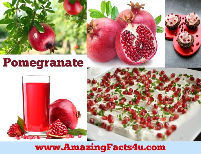 Amazing Facts Pomegranate